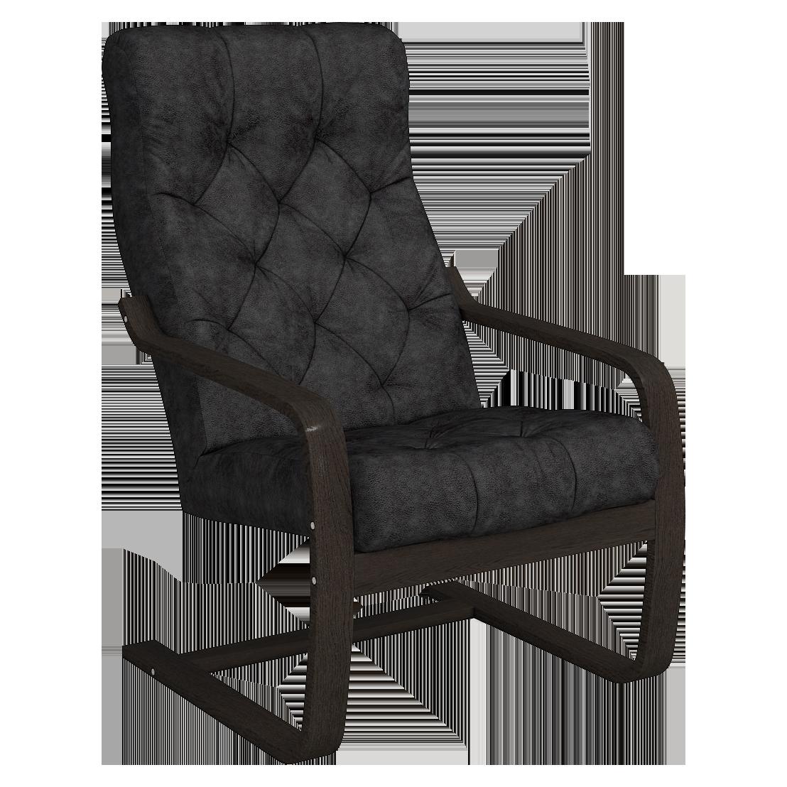 Кресло для отдыха Эльба Люкс (Плутон 018 венге)
