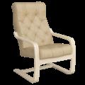 Кресло для отдыха Эльба Люкс (Плутон 603 натурал)