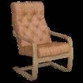 Кресло для отдыха Эльба Люкс (Плутон 060 светлый орех)