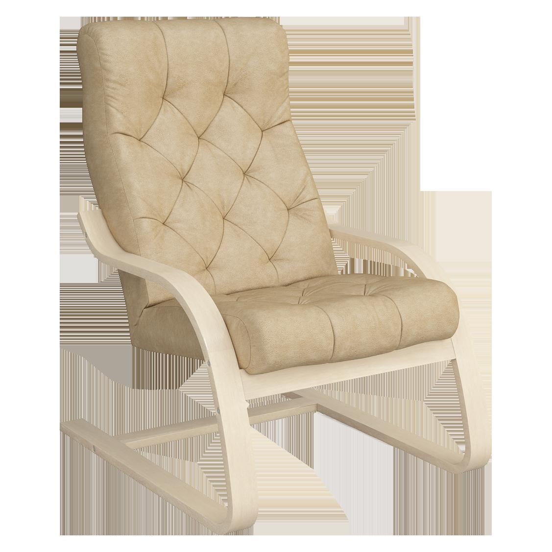 Кресло для отдыха Капри Люкс (Плутон 603 натурал)