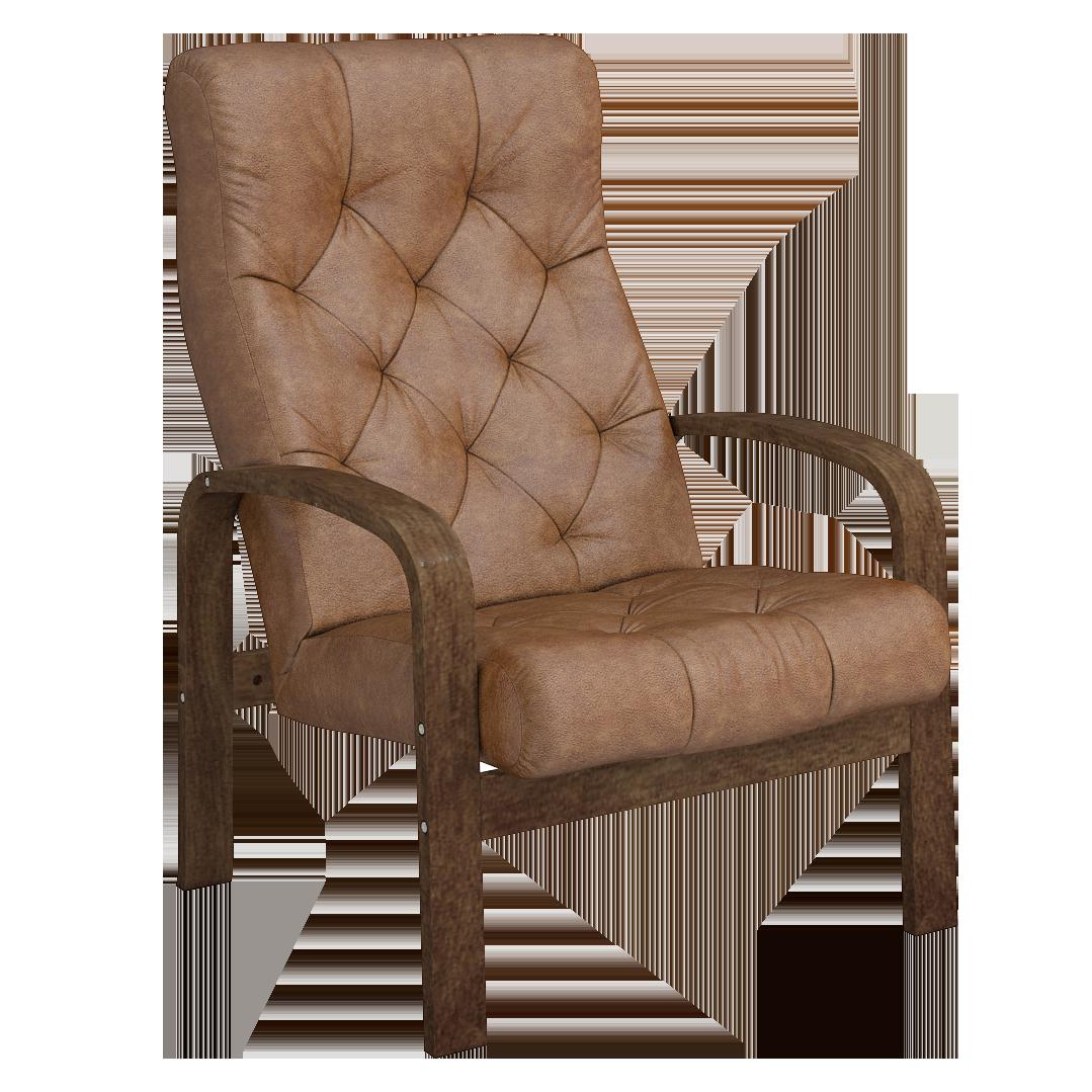 Кресло для отдыха Линоза Люкс (Плутон 04 темный орех)