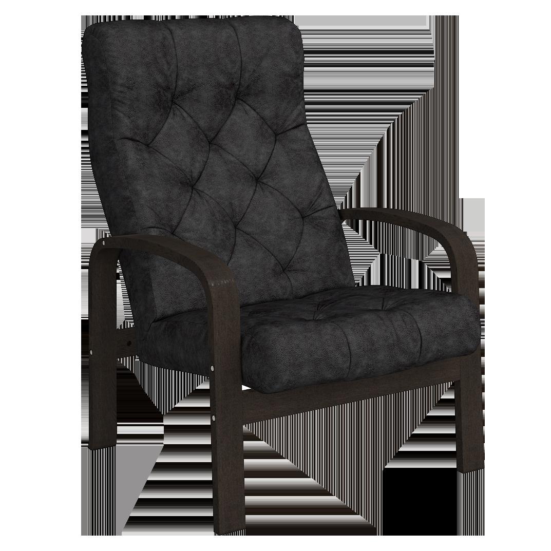 Кресло для отдыха Линоза Люкс (Плутон 018 венге)