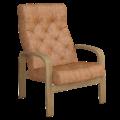 Кресло для отдыха Линоза Люкс (Плутон 060 светлый орех)