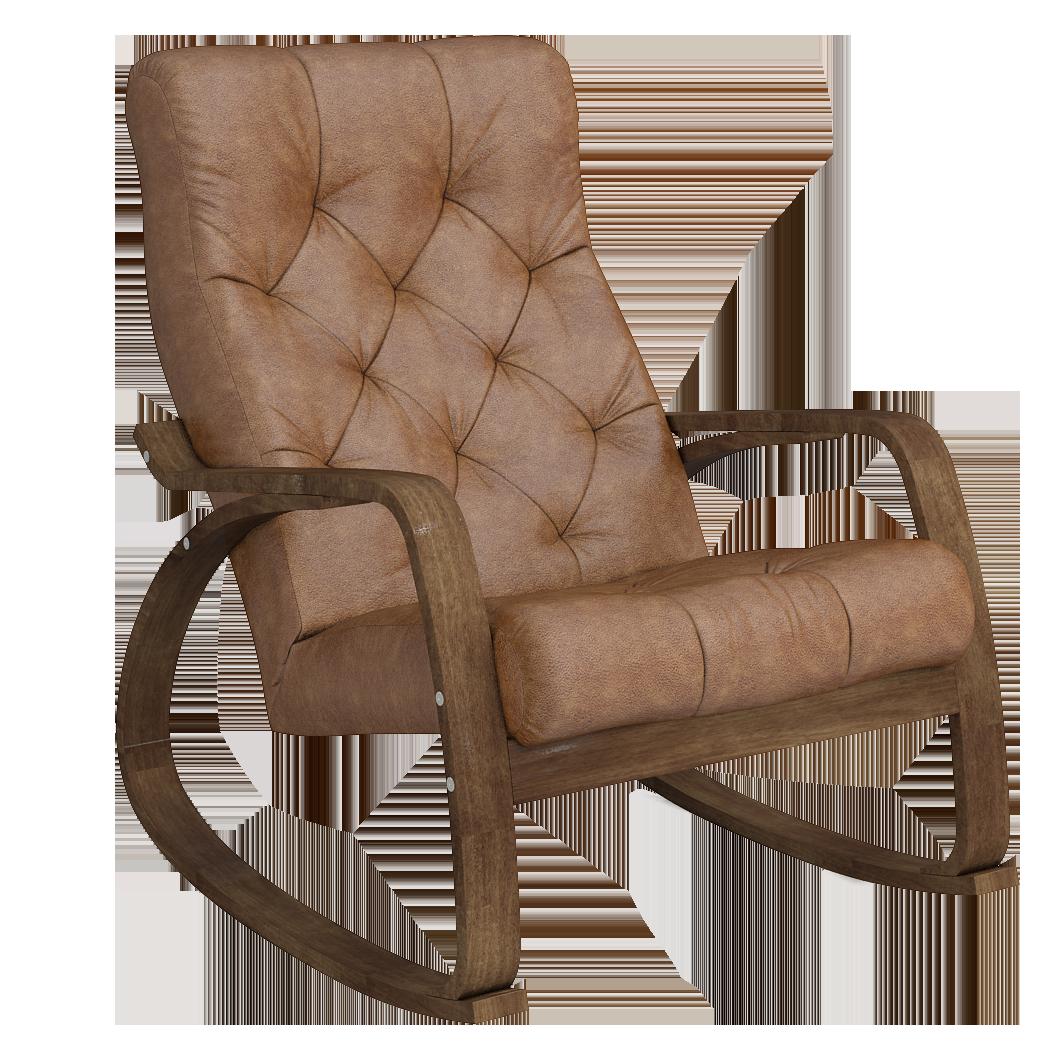 Кресло-качалка Липари Люкс (Плутон 04 темный орех)