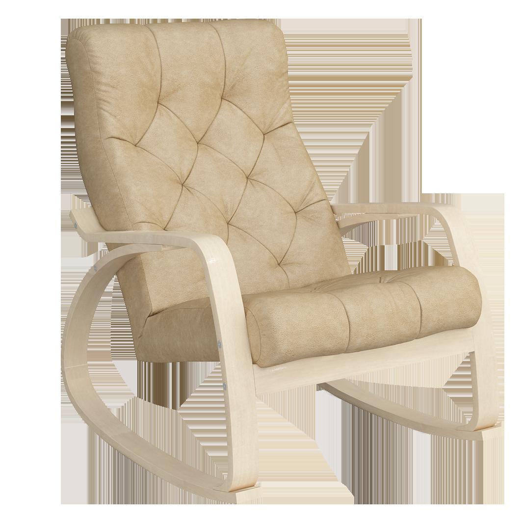 Кресло-качалка Липари Люкс (Плутон 603 натурал)