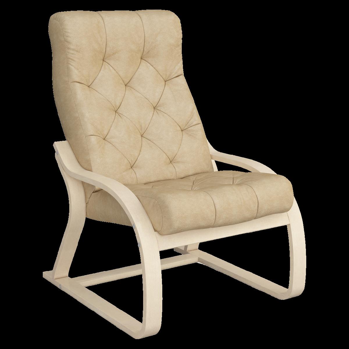 Кресло для отдыха Салина Люкс (Плутон 603 натурал)