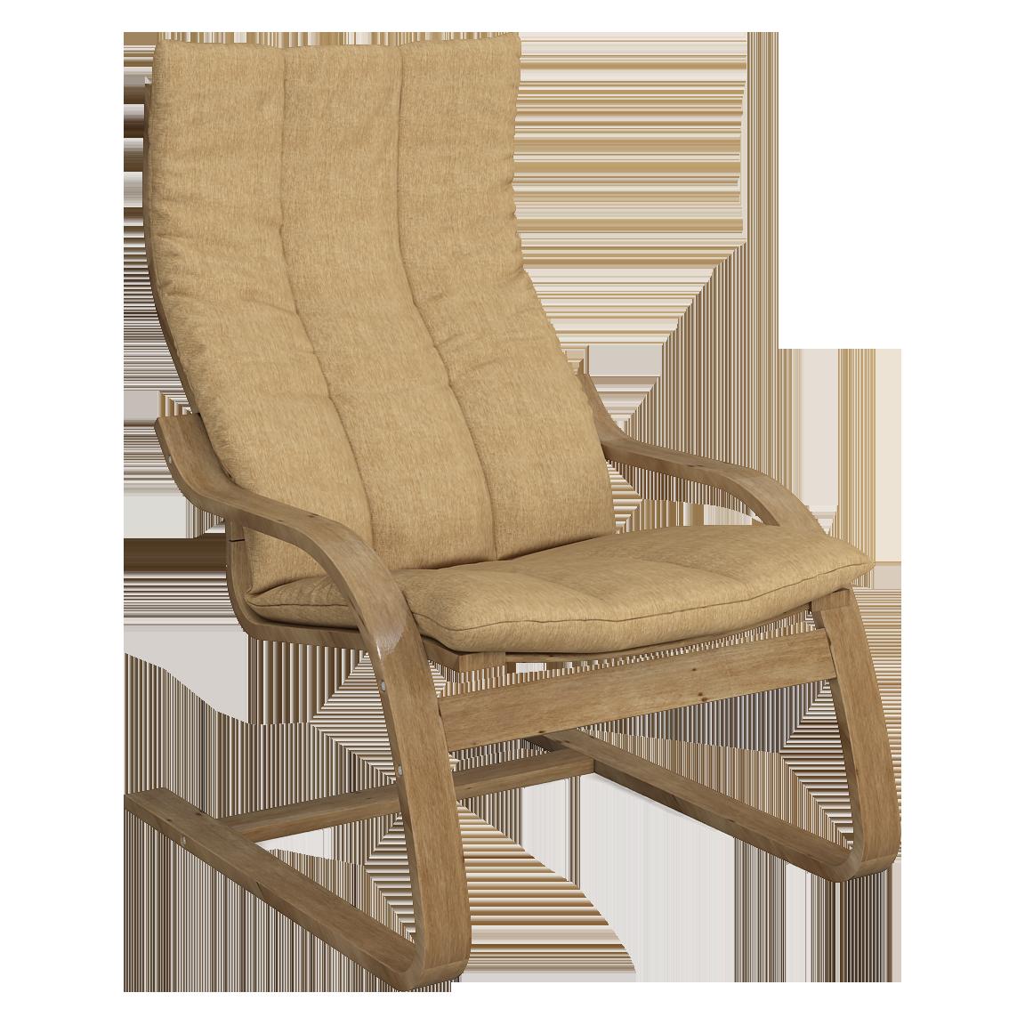 Кресло для отдыха Капри (Монтана 251 светлый орех)