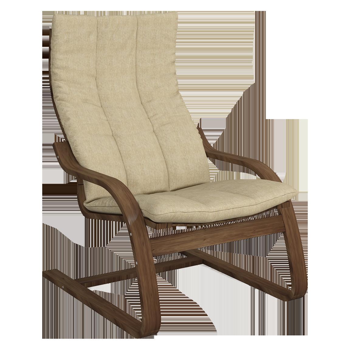 Кресло для отдыха Капри (Монтана 051 темный орех)