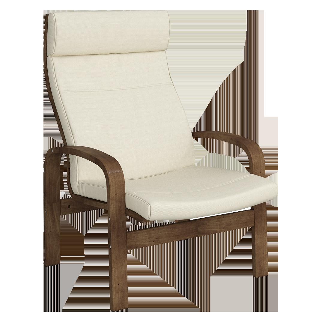 Кресло для отдыха Линоза (Симпл 02 темный орех)