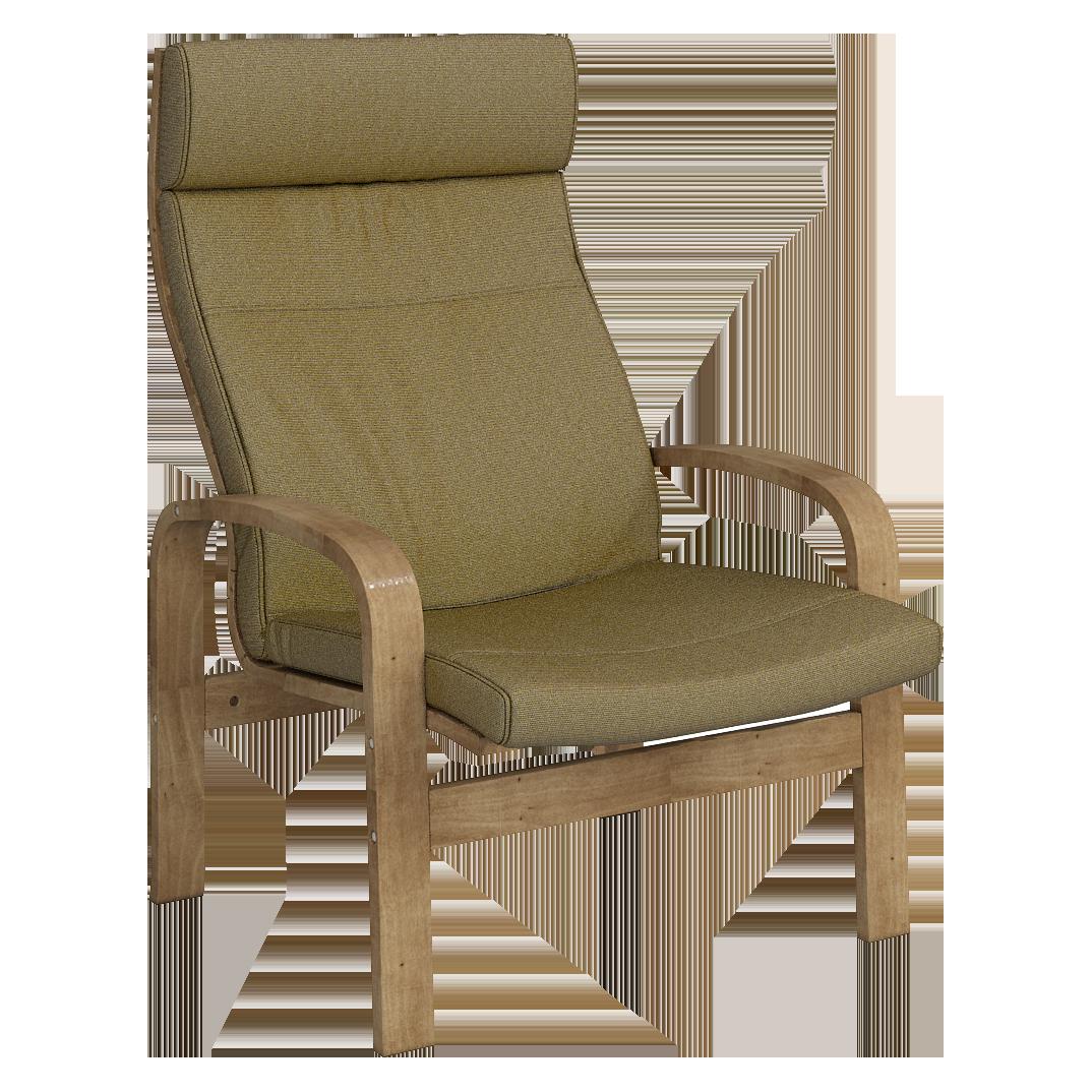 Кресло для отдыха Линоза (Симпл 07 светлый орех)