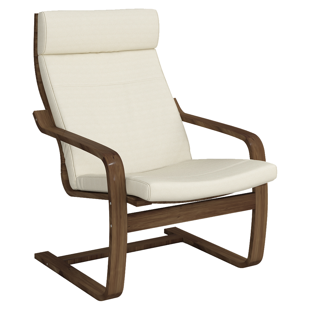 Кресло для отдыха Эльба (Симпл 02 темный орех)