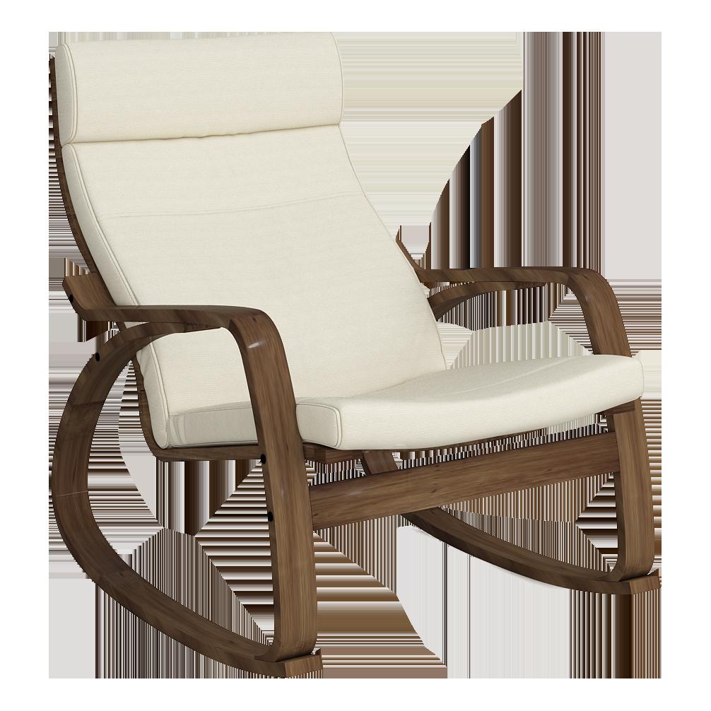 Кресло-качалка Липари (Симпл 02 темный орех)