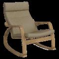 Кресло-качалка Липари (Симпл 07 светлый орех)