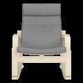 Кресло-качалка Липари (Симпл 05 натурал)