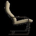 Кресло для отдыха Эльба (Монтана 051 темный орех)