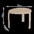 Журнальный столик Комо (натурал)