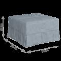 Пуф-кровать Клио (Лама 02)