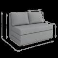 Диван-кровать Оскар (Тедди 022)