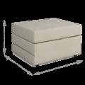 Пуф-кровать Оскар (Тедди 004)