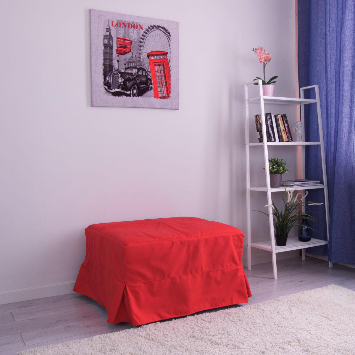 Пуф-кровать Клио (Симпл 028)