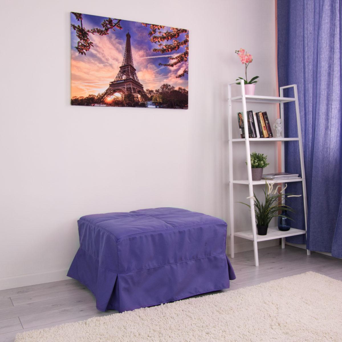 Пуф-кровать Клио (Симпл 740)