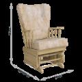 Кресло-качалка Джильо (Маборо 02 дуб натуральный)