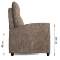 Кресло-реклайнер Эми (Такома 013)