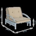 Кресло-кровать Роджер комфорт сканди (энигма 03)