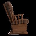 Кресло-качалка Джильо (Маборо 07 дуб коньяк)