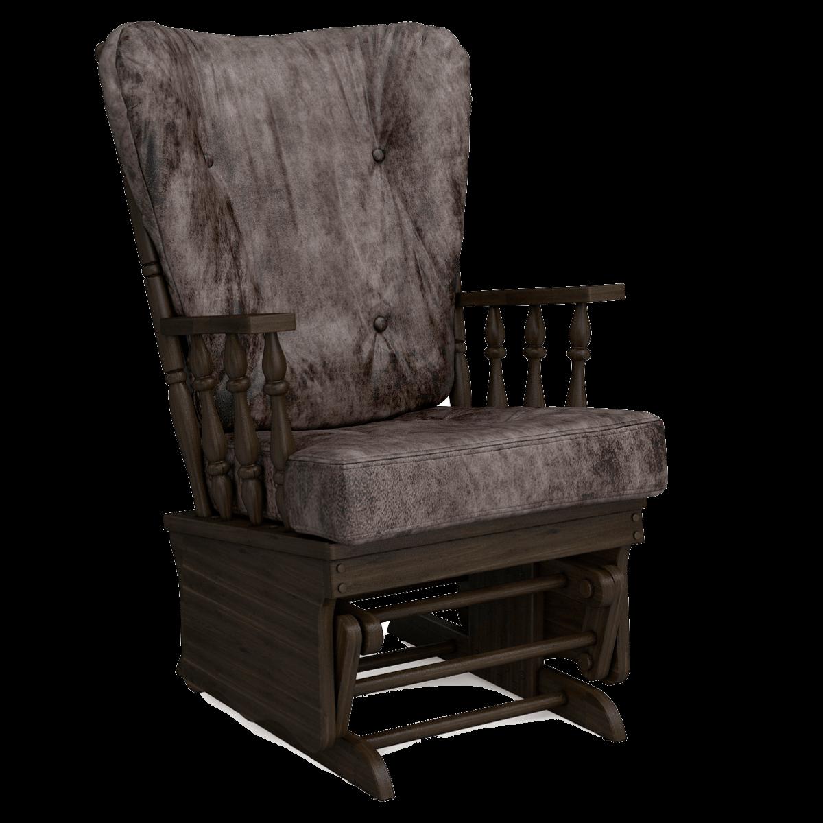 Кресло-качалка Джильо (Маборо 13 дуб венге)