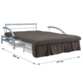 Диван-кровать Роджер Комфорт 120 (Луна 019)