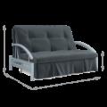 Диван-кровать Роджер Комфорт 120 (Луна 011)