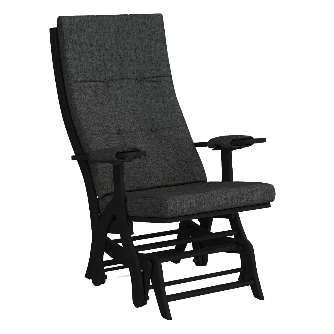 Кресло-качалка Капрера венге Лама 025