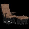 Комплект Капрера (кресло-качалка + пуф) венге Xpoint 0061.01