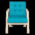 Кресло Селин (Импульс Бирюза, натурал)